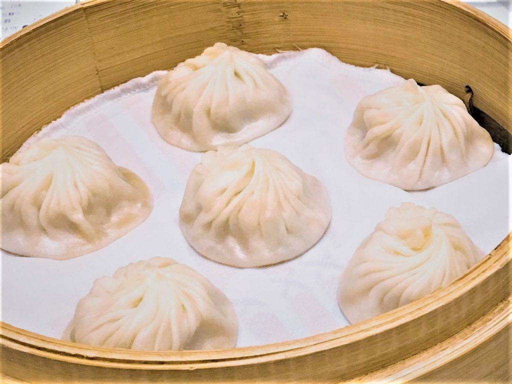 soup dumpling of Din Tai Fung