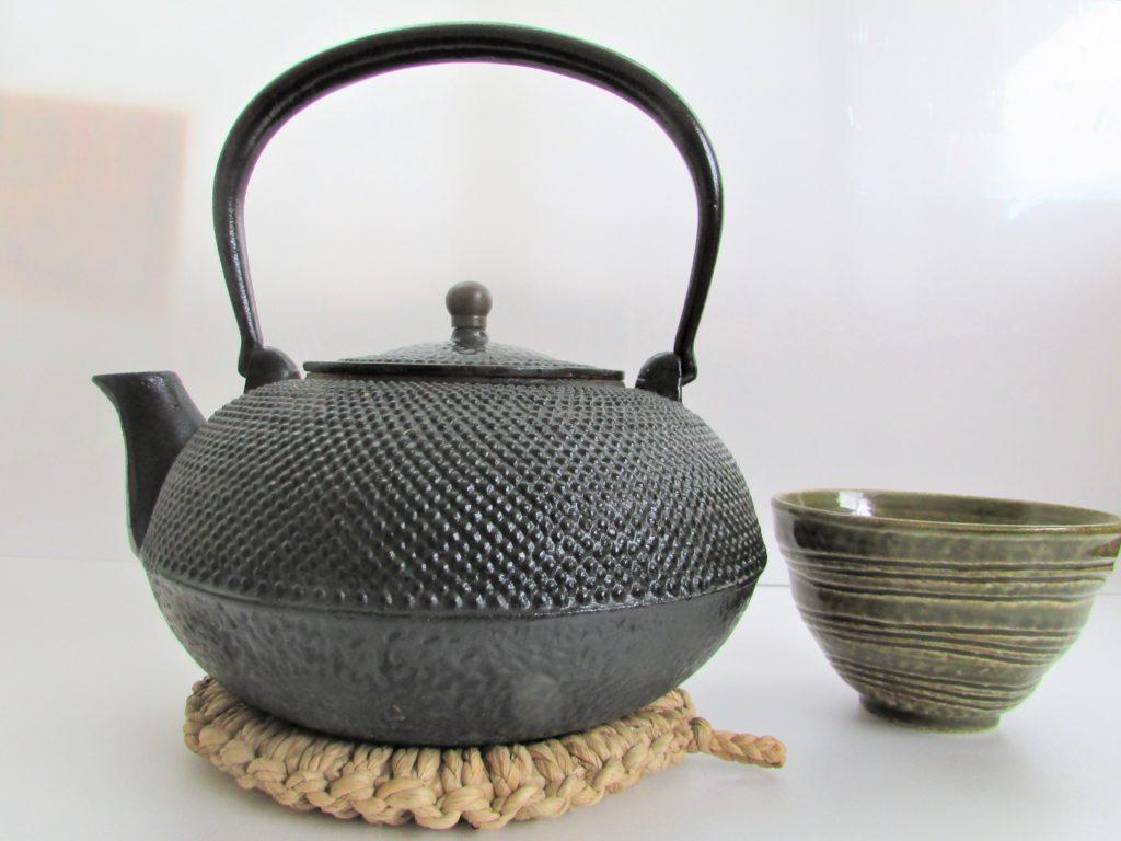 南部鉄器・鉄瓶(茶道)