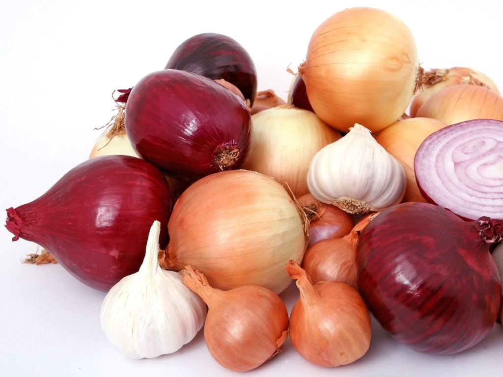 onion,garlic