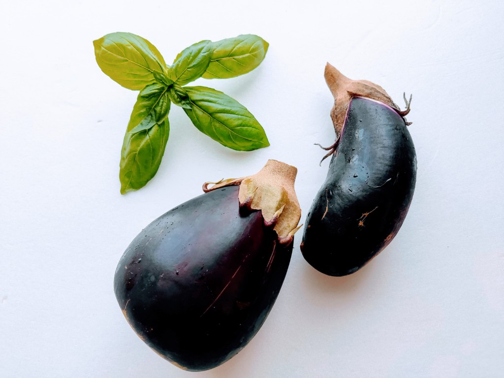 eggplant,basil-2