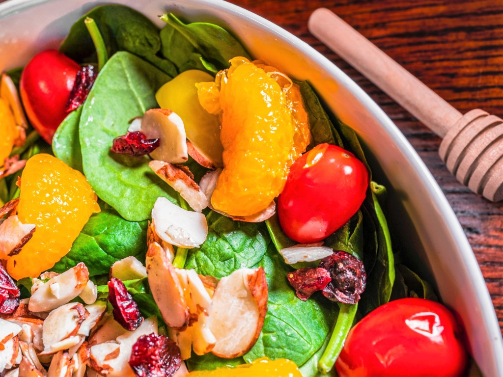 spinach,horenso,salad