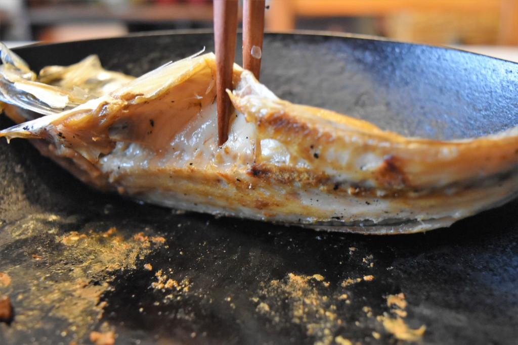 tetsu frying pan aji himono (3)