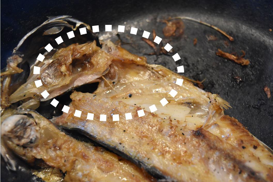 tetsu frying pan aji himono (5-1)
